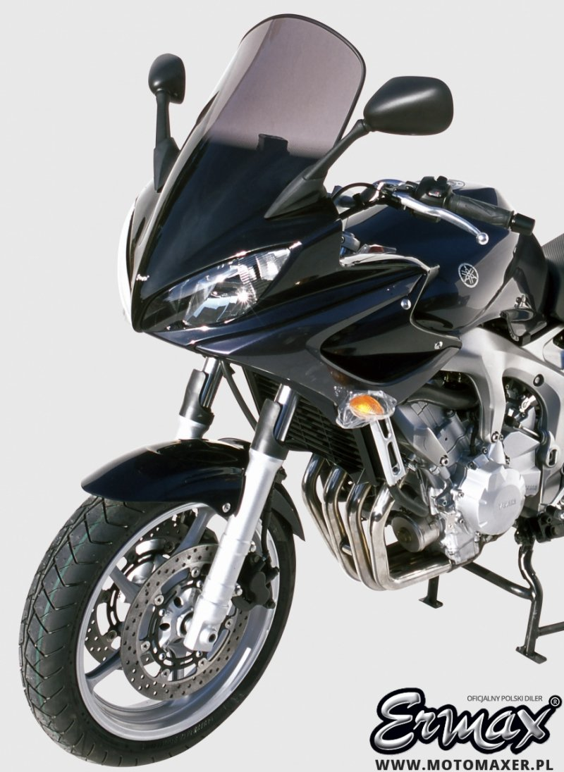 Szyba ERMAX HIGH + 10 cm Yamaha FZ6 FAZER 2004 - 2007