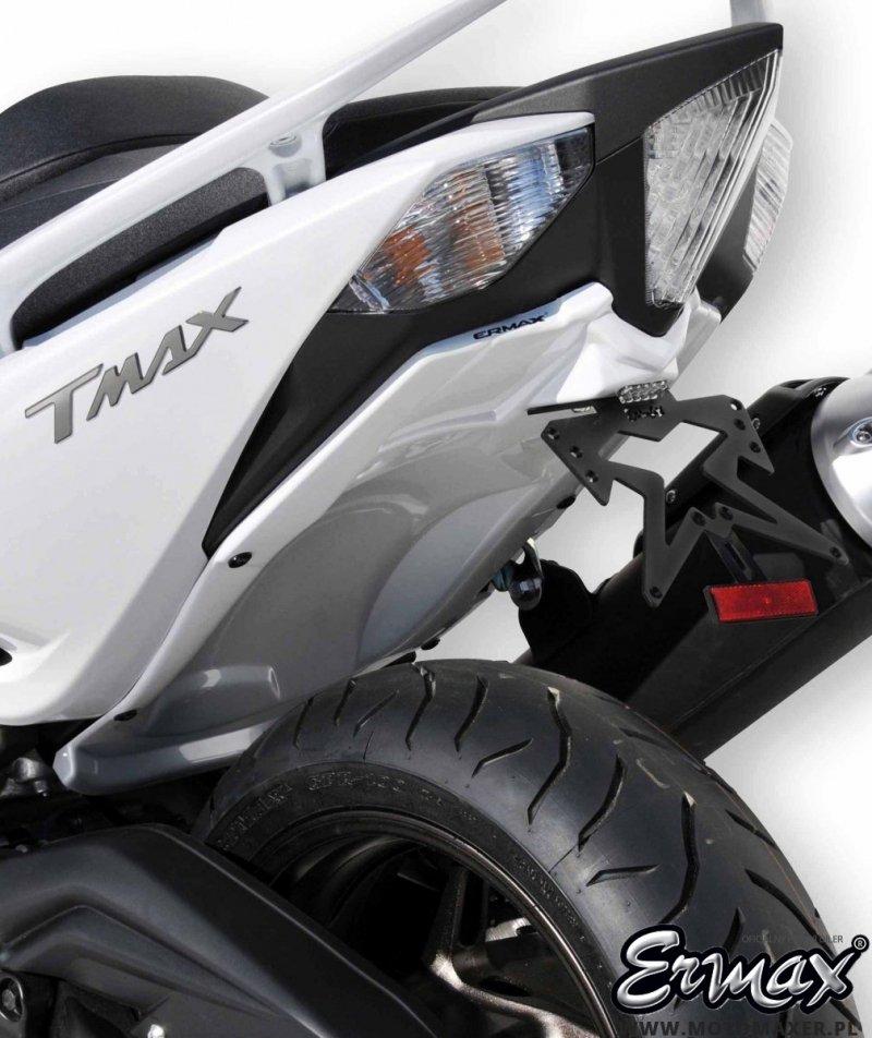 Mocowanie tablicy rejestracyjnej ERMAX UNDERTAIL Yamaha TMAX 530 2012 - 2016