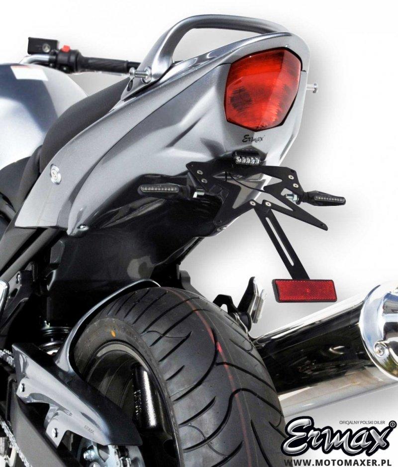 Mocowanie tablicy rejestracyjnej ERMAX UNDERTAIL Suzuki GSF 1250 BANDIT N 2010 - 2014