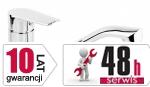 ARMATURA KRAKÓW - Bateria jednouchwytowa zlewozmywakowa stojąca GERMAN 4513-915-00