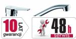 ARMATURA KRAKÓW - Beryl Bateria jednouchwytowa, zlewozmywakowa 4803-915-00
