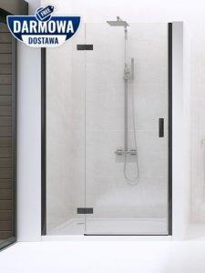 NEW TRENDY - Drzwi wnękowe New Renoma BLACK 120x195  D-0200A  PRAWE