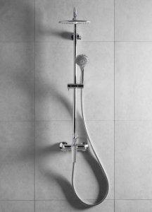 ARMATURA KRAKÓW - Zestaw prysznicowy z baterią natryskową TANZANIT 5026-910-00