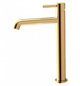 OMNIRES - Bateria umywalkowa złota/ gold wysoka Y1212GL Y