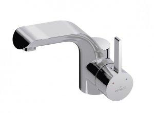 CERSANIT - Bateria umywalkowa stojąca z korkiem automatycznym klik-klak LUVIO DESIGN S951-051