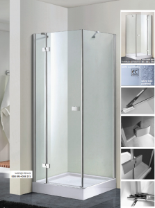 WANA Kabina prysznicowa kwadratowa PERFECT DEVON 80x80x190
