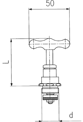 ARMATURA KRAKÓW - głowica wzniosowa do zawrów   881-310-97