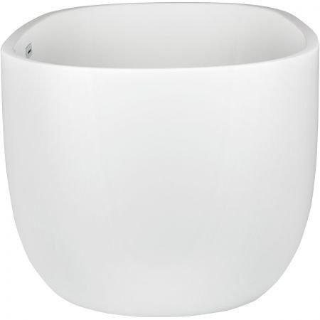 OLTENS Wanna wolnostojąca STORA 170x78 cm owalna akrylowa biała 12001000