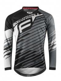 FORCE DOWNHILL koszulka rowerowa unisex