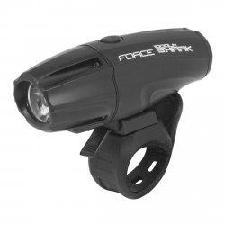 FORCE SHARK-1000 Przednia lampka rowerowa mini USB