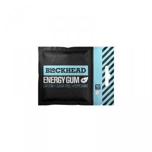 BLOCKHEAD guma energetyczna z kofeiną i żeńszeniem - 10 szt.