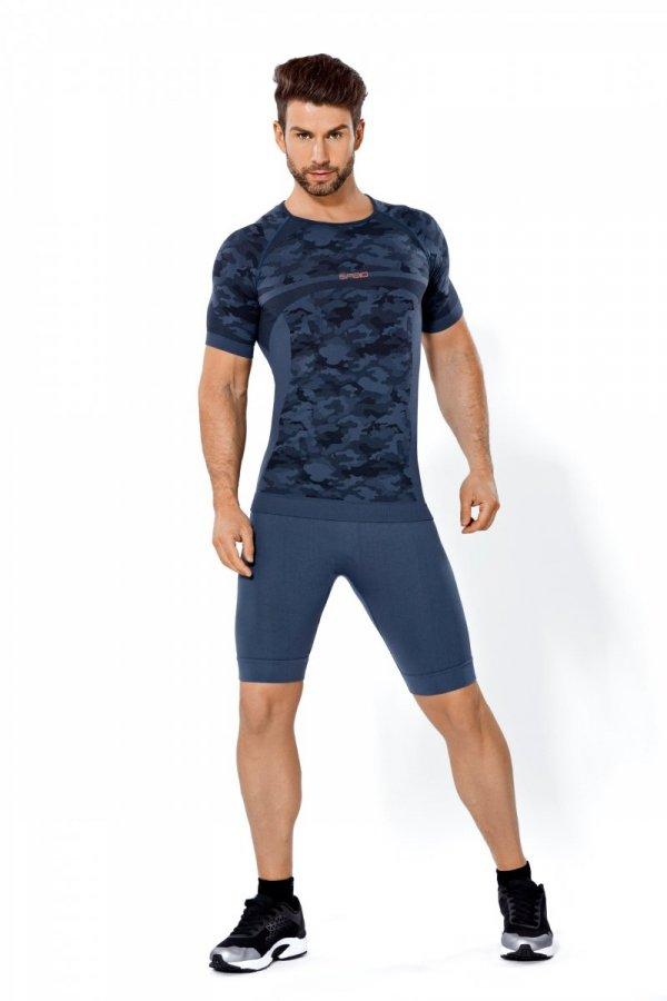 SPAIO INFORCE CAMOUFLAGE koszulka termoaktywna męska