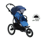 X Run Night Blue| X-Lander Jogger - Buggy - Kombikinderwagen