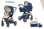X-Pulse | 8 in 1  Kombi Kinderwagen | Desert Team | SPECIAL EDITION | Bettwäsche GRATIS!