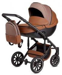 ANEX m-Type DESERT HAZE | Kombi-Kinderwagen 2 in 1 mit Babywanne und Sportwagen | oder 3 in 1 mit Autoschale