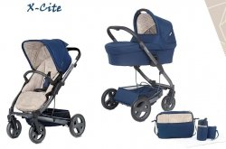 X-Cite | 8 in 1 Kombi Kinderwagen | Desert Team | SPECIAL EDITION | Bettwäsche GRATIS!