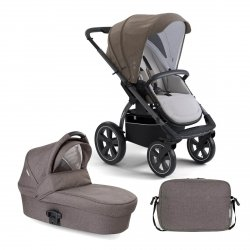 X-Move Evening Grey| 2in 1 Set Kombi Kinderwagen X-Lander |inkl.Wickeltasche