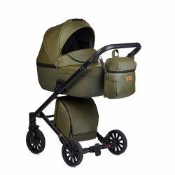 Kombikinderwagen Anex CROSS, Safari/Eco-Leder