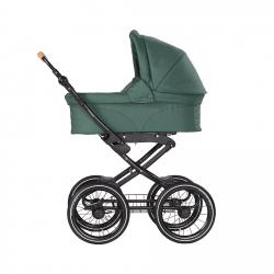 NATURKIND Kinderwagen VITA | Salbei / Grün | Alu Gestell schwarz