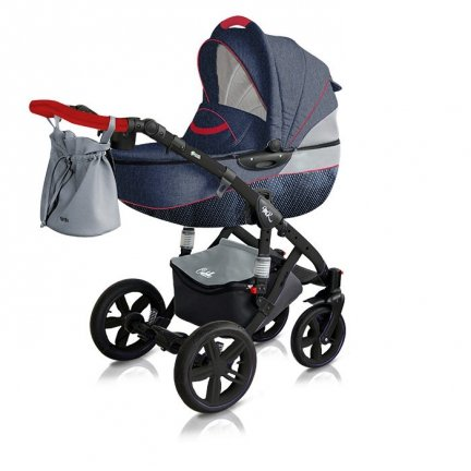 Classico VIVA | Kombi Kinderwagen | Navy Blue | Kollektion 2018 | Navy Blue | Alu Gestell | Carbon Navy Blue