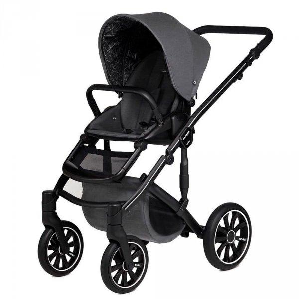 ANEX m-Type RHINO | Kombi-Kinderwagen 2 in 1 mit Babywanne und Sportwagen | oder 3 in 1 mit Autoschale