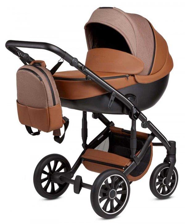 ANEX m-Type DESERT HAZE   Kombi-Kinderwagen 2 in 1 mit Babywanne und Sportwagen   oder 3 in 1 mit Autoschale
