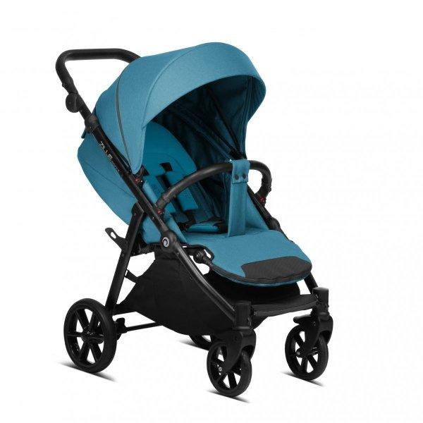 Zille SPRINT Buggy/ komfortabler Sportwagen mit großer Sitzfläche / Alu Gestell / STEP 6 | Blau