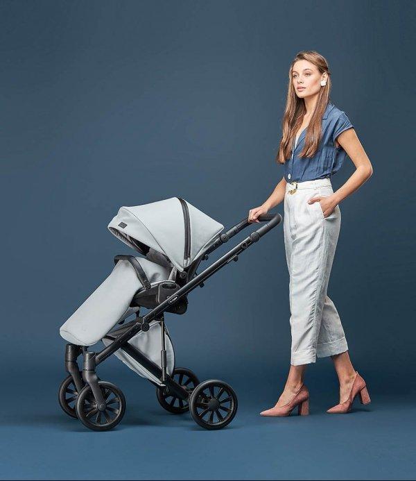 ANEX e-Type Truffle | Limited Edition | Kombi-Kinderwagen 2 in 1 mit Babywanne und Sportwagen | oder 3 in 1 mit Autoschale