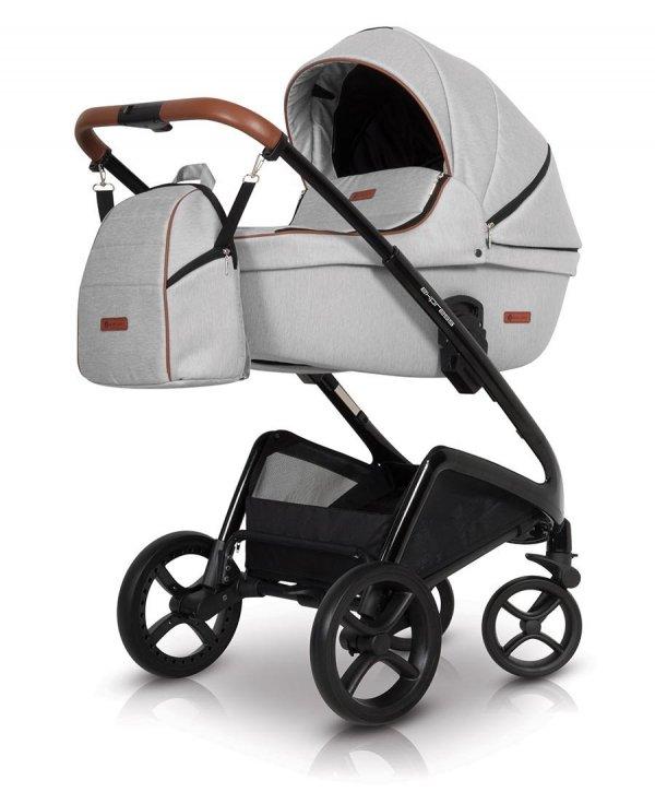 PREMIUM EXPRESS   2 in 1 mit Liegewanne und Sportwagen   oder 3 in 1 mit Autoschale   Kombi-Kinderwagen   Denim