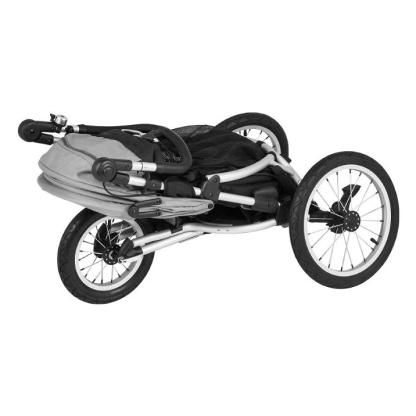 X Run Night Blue| X-Lander Jogger - Buggy - Kombikinderwagen | X-Pad Sitzauflage GRATIS