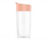 Kubek termiczny szklany szczelny SIGG Nova Mug Pink 370 ml (jasnoróżowy)
