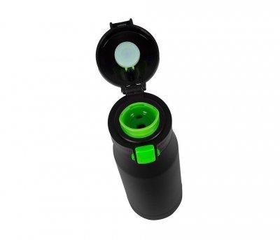 Kubek termiczny 600 ml T-READY2 (czarny/zielony)