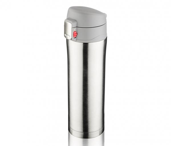 Kubek termiczny OUTER 440 ml K2 srebrny