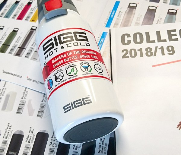 Butelka termiczna SIGG HOT&COLD ONE TOP 300 ml biała