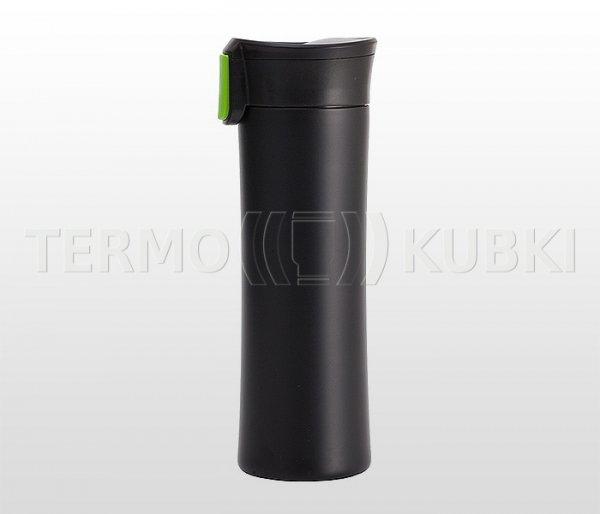 Kubek termiczny 540 ml ASTON (czarny/zielony)
