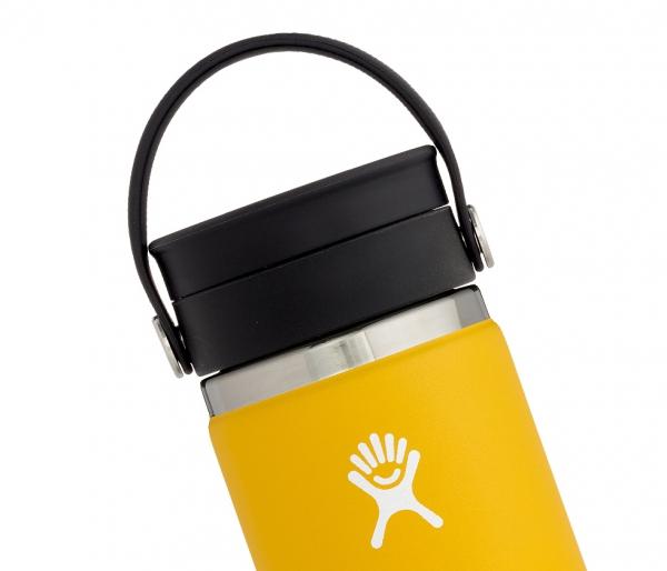 Kubek termiczny Hydro Flask 354 ml Coffee Wide Mouth Flex Sip sunflower - żółty