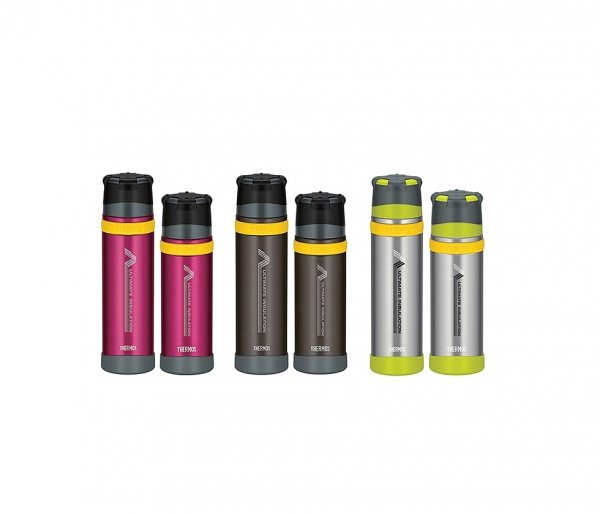 Termos ekstremalny Mountain Thermos 500 ml malinowy/siwy