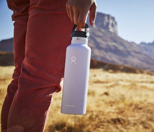 Butelka termiczna Hydro Flask 621 ml Flex Cap niebieski pacific