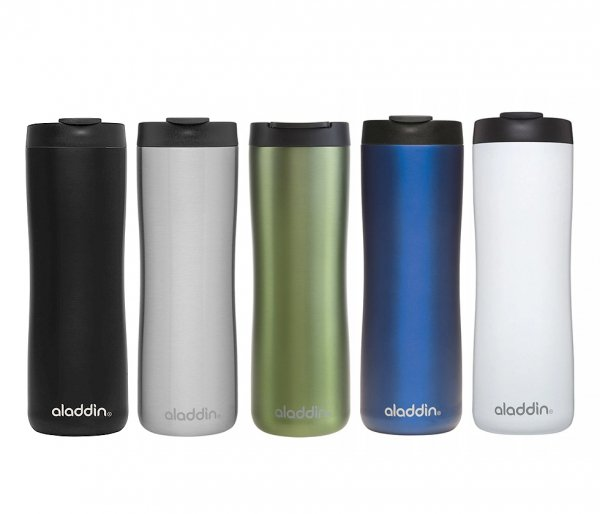 Aladdin Leak-Lock Thermavac™ Stainless Steel Vacuum Mug 470 ml
