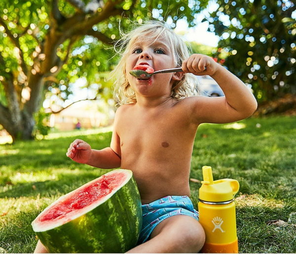 Kubek termiczny dla dzieci Hydro Flask Straw Lid 355 ml żółty