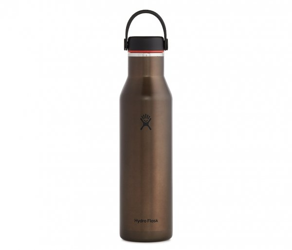 Butelka termiczna Hydro Flask 621 ml LIGHTWEIGHT STANDARD FLEX CAP obsidian brązowy