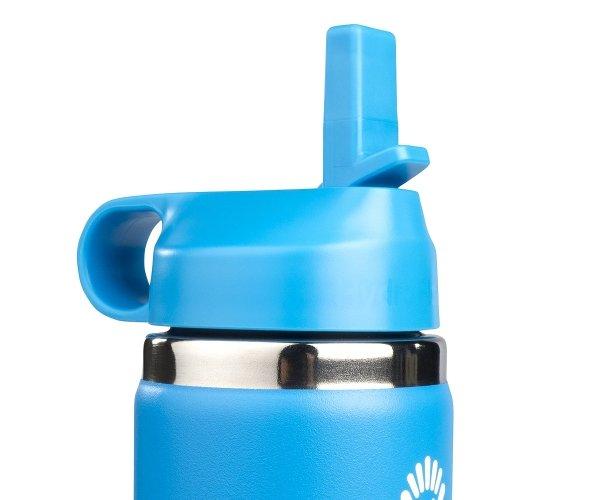 Kubek termiczny dla dzieci Hydro Flask Kids Straw Lid 355 ml pacific niebieski