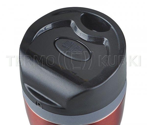 Kubek termiczny SLIM 350 ml (bordowy)