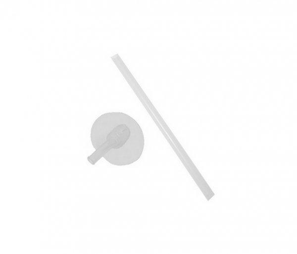 Kubek dla dzieci ze słomką Thermos FUNtainer 470 ml stalowy/różowy