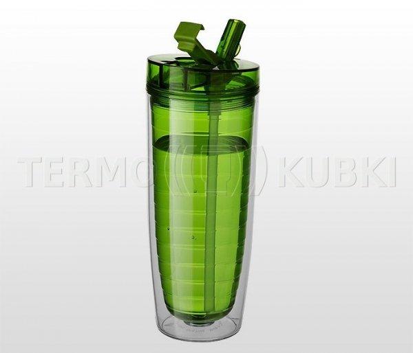 Bidon termiczny 560 ml CLAREC (zielony)