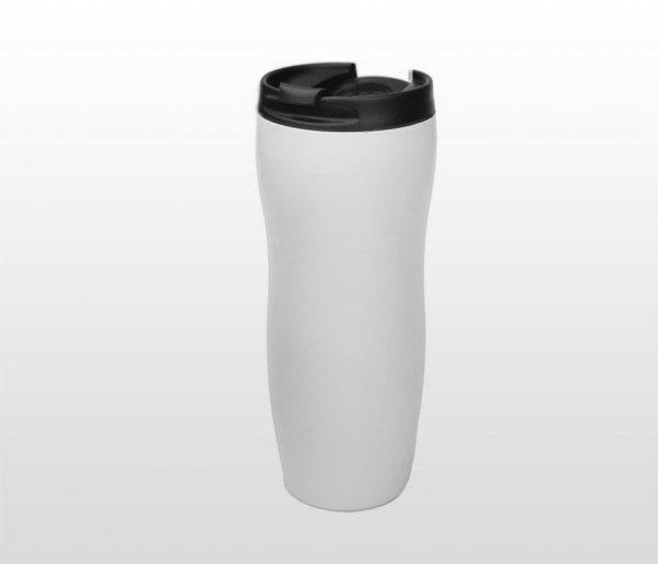 Kubek termiczny BLACKY 400 ml (biały)
