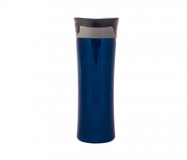 Kubek termiczny 430 ml TRAWIS (granatowy)
