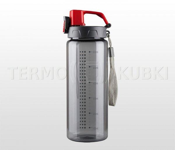 Bidon sportowy 600 ml ENERGY (czerwony)