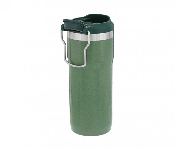 Kubek termiczny Stanley TWIN LOCK 470 ml TRAVEL MUG zielony