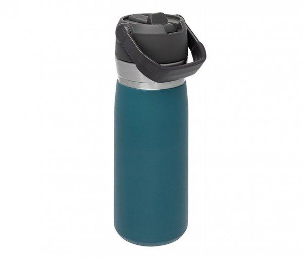 Bidon termiczny STANLEY GO FLIP STRAW 650 ml ze słomką turkusowy